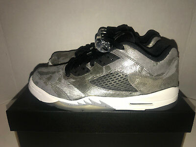 8c9987b5f6d27 Nike Jordan Retro 5 Prem Low All Star Grade School Size 7Y DS 819951 003