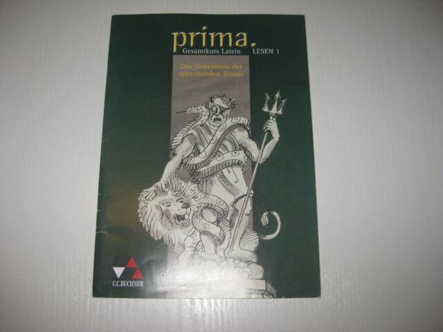 Prima Palette Gesamtkurs Latein. Lesen 1: Das Geheimnis der sprechenden Statue v