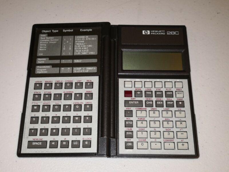 Hewlett Packard HP 28C Scientific Calculator