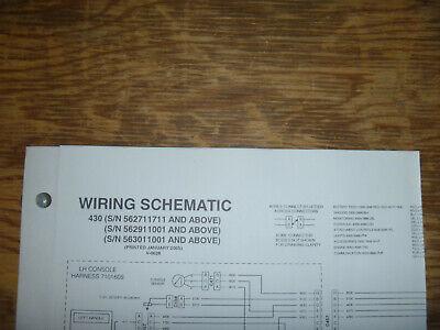 Bobcat 430 Excavator Electrical Wiring Diagram Schematic Manual Sn 562711711 Up