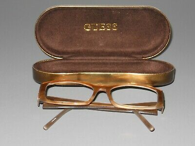 Eyeglasses With Lights (Guess GU1602ST Gold and Light Brown RX Eyeglasses 52-16 - 135 with)
