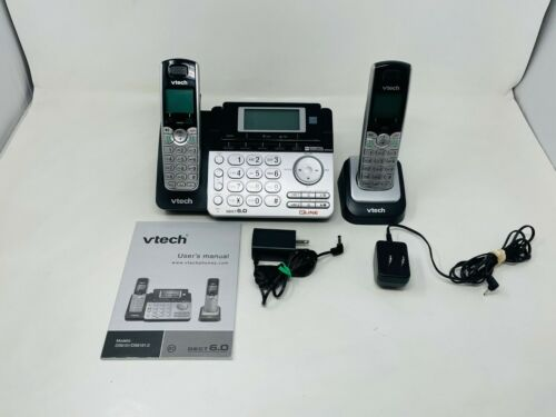 SEE NOTES VTech DS6151-2, 2 Handset Cordless Phone System