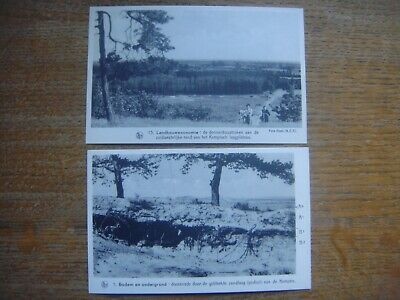 Lot de 2 cartes de Kempisch Laagplateau / Gebleekte zandlaag van de KEMPEN