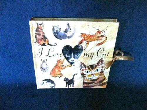 I Love My Cat Album Book, Hardcover Photo Album by BARRON