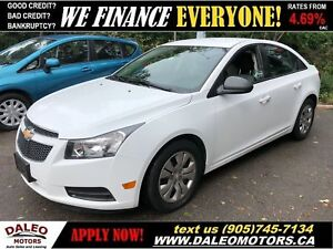 2014 Chevrolet Cruze 2LS| SATELLITE RADIO|LOW KMS| CERTIFIED