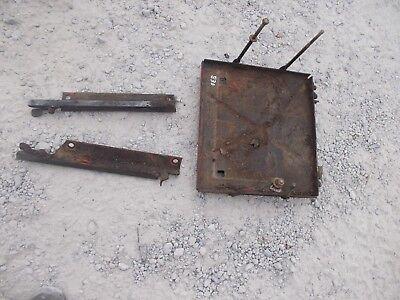 Case 830 Diesel Rowcrop Tractor Battery Tray Slide Mounting Bracket Brackets