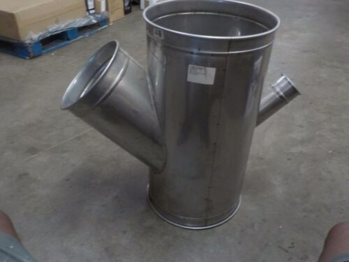 """Nordfab Ducting 3226-1611-216045 Qf Double Branch 45 Degree 16-11-16-4, 16"""""""