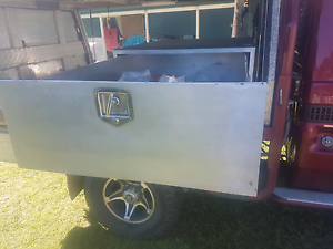 Toolbox large suit ute single draw lockable Cedar Grove Logan Area Preview
