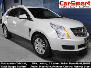 2012 Cadillac SRX Luxury Collection AWD, Bluetooth, Camera, Pana