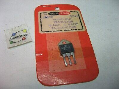 Tip3055hx Texas Instruments Transistor Npn Radio Shack 276-118 Sealed Pack Qty 1