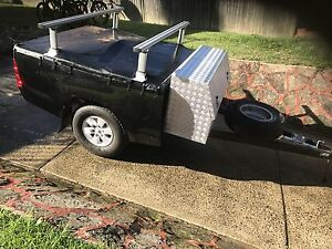 Ute tub trailer, Extra Cab Warriewood Pittwater Area Preview