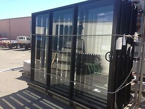 Sliding aluminium black Stacker door sets Tweed Heads South Tweed Heads Area Preview