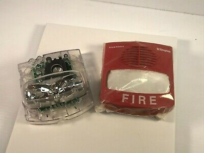 Simplex Av Horn Strobe Red 15cd 4903-9417 Nib