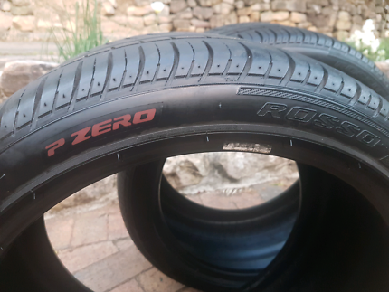 Pirelli Pzero Rosso 2 x 265 35 18 tyres