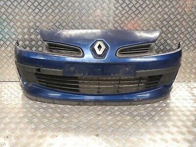 2006 RENAULT CLIO MK3 FRONT BUMPER 185 BLUE NV432