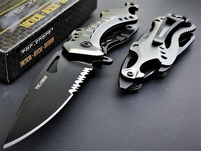 8  Tac Force Tactical Spring Assisted Folding Knife Blade Pocket Open Switch