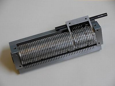 Check Micro Encoder- Leibinger-42 Wheel Rotary Numbering Machine- Micr E-13b