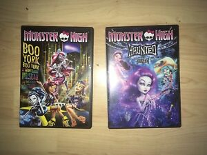 Monster High DVD's.