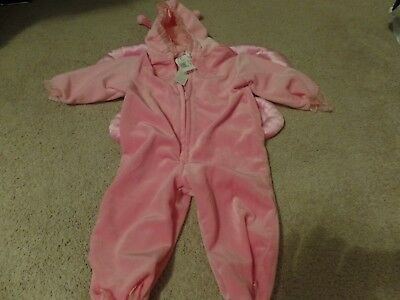 Pink Butterfly, Halloween Costume, 1-Piece, Toys R Us, Size: 12M, New with Tags