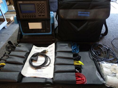 Dranetz PP1/P Power Platform w/ Case, Cables, & Accessories