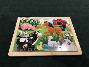Set of 3 Kids Wooden Puzzles