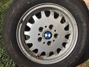 15inch rims & tyres size 205/60/15 set of 5 Padstow Bankstown Area Preview