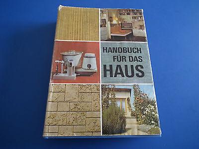 Handbuch für das Haus sehr umfangreich ein DDR Fachbuch HC mit SU aus 1978