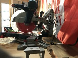 Bosch 12 inch dual bevel axial glide mitre saw