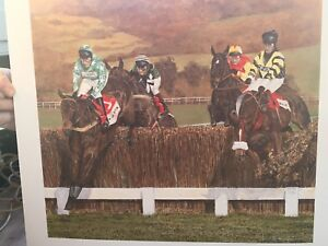 Picture Print horse racing Cheltenham gold cup