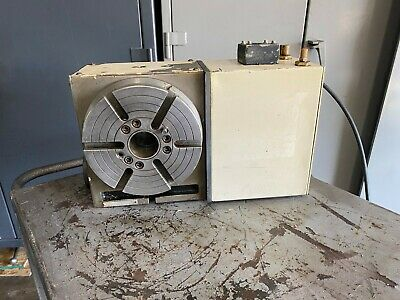 Haas 4th Axis Cnc Rotary Table 8 Sigma Direct To Machine Hrt 8 Indexer