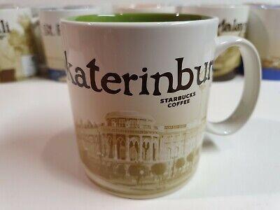 STARBUCKS YEKATERINBURG Coffee Mug 16oz Icon Series, 2014 MIT, NEW w SKU Russia