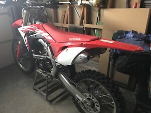 2018 crf 250 with rekluse