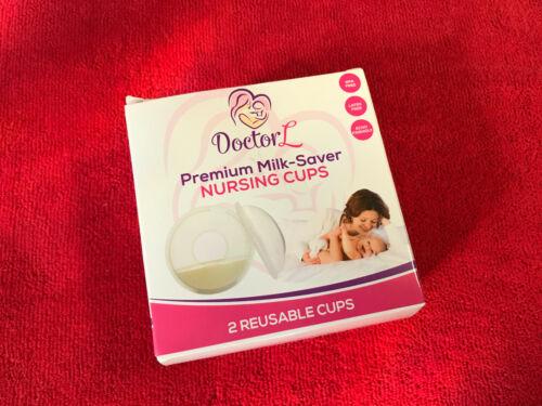 Doctor L Reusable Pemium Milk Saver Catcher Nursing Cups, Breastfeeding Relief