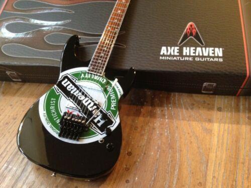 Jeff Hanneman Heineken Guitar Slayer Collectible Mini Guitar Replica