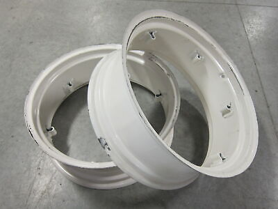 2 Wheel Rims 11x28 For Massey Ferguson Mf 135 150 20 230 235 240 245 35 50 F-40