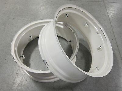2 Wheel Rims 11x28 For Massey Ferguson Mf 135 150 20 230 235 240 245 35 50 F-40