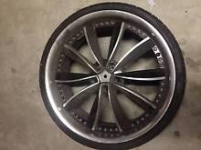 Vertini 22x8.5 wheels + tyres. Used. Price Negotiable Alexandria Inner Sydney Preview