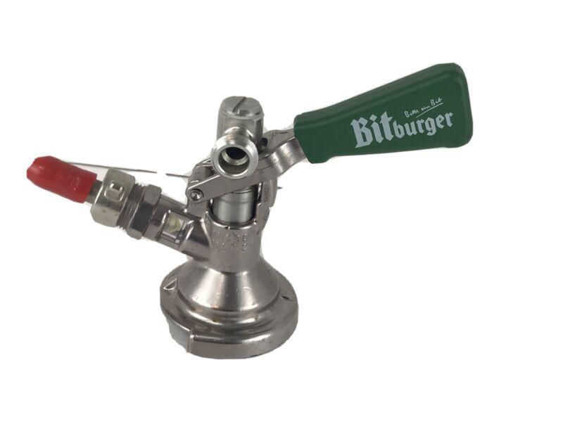 Vintage 90s Bitburger Micro Matic SK 184.04 Beer Keg Coupler Tap