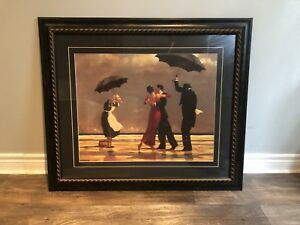 Framed Print/Painting Jack Vettriano The Singing Butler $85