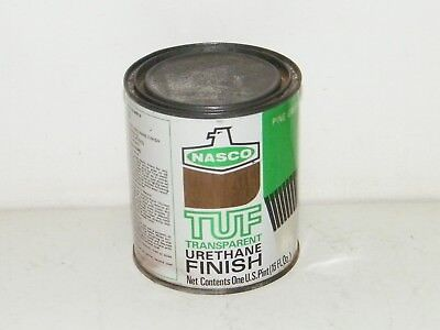 TUF Transparent Urethane Finish 16 Oz Pine Green For Wood Glass Metal Plastic
