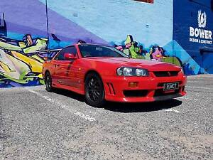 1998 R34 Nissan Skyline 25GT-T 5-Speed Manual Coupe Seaford Morphett Vale Area Preview