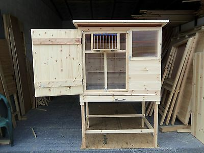 BIRMINGHAM ROLLERS RACING PIGEONS TIPPLERS SINGLE  KIT BOX LOFT SHED