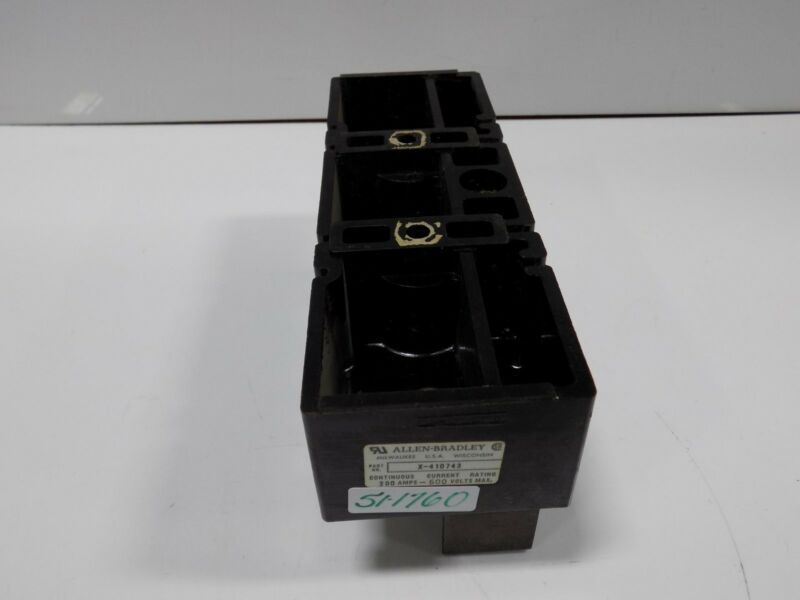 GENERAL ELECTRIC NEMA SIZE 4 600VAC 135A MOTOR STARTER CR306F0**AQA