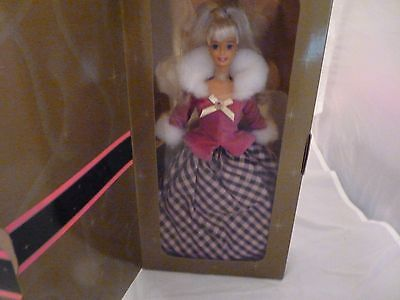 1995 Avon Winter Rhapsody Special Edition Blonde Barbie 2nd in the Series!