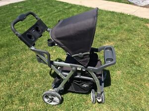 Joovy Caboose VaryLight extendable sit and stand stroller
