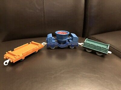 Thomas & Friends Trackmaster - Smelting Car, Steel Steelworks Cargo Car Lot Of 3