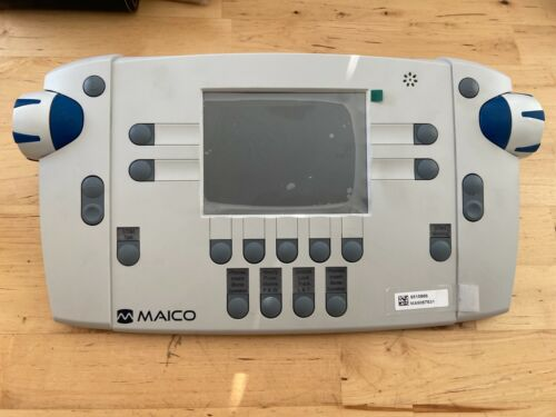 Maico MA42 Two Channel Audiometer Portable MA 42 System Display Control