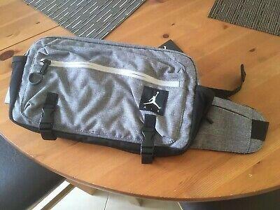 Nike Air Jordan Crossbody Bum Gym Bag Carbon Heather Grey Carhartt New with Tags