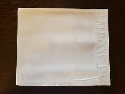 100 - Clear 4.5 X 5.5 Packing List Envelope Invoice Slip Self Sealing Pouch