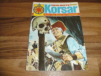 der ROTE KORSAR  # 6 -- das RÄTSEL des TOTENSCHIFFS  // Bastei Verlag 1.1.1969